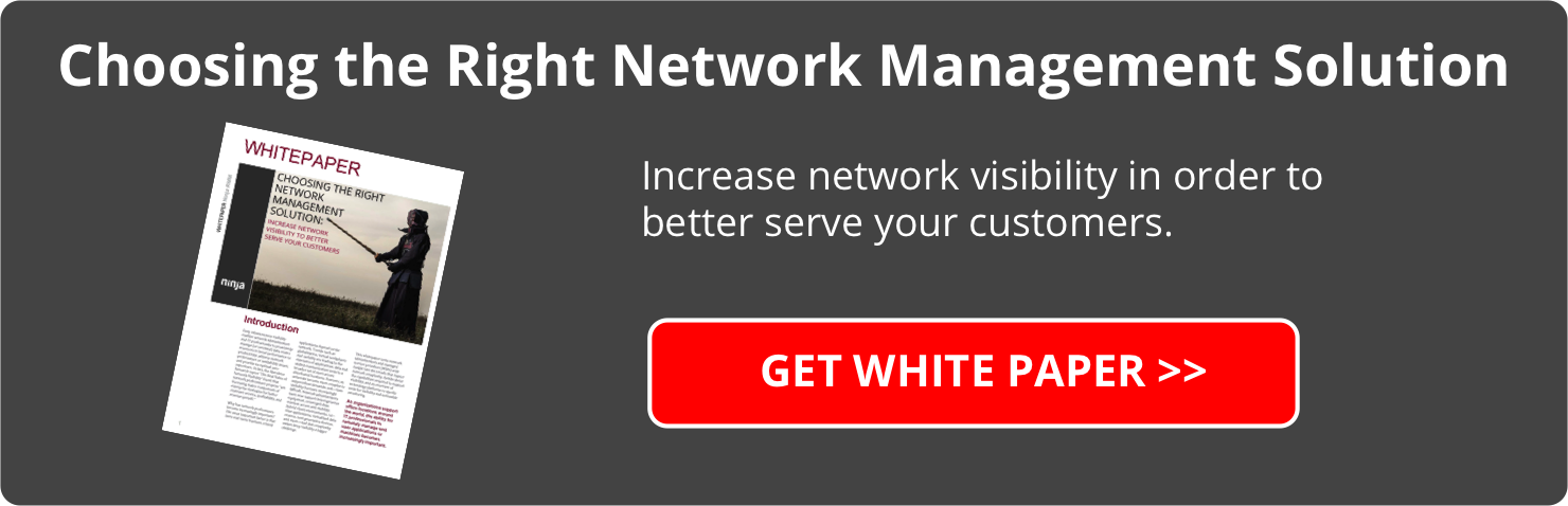 Whitepaper Download - Choosing the right network management solution