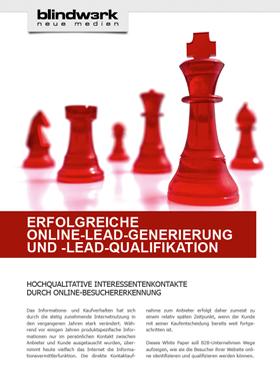 Whitepaper zur Online Lead Generierung