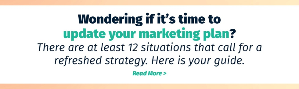 update your marketing plan
