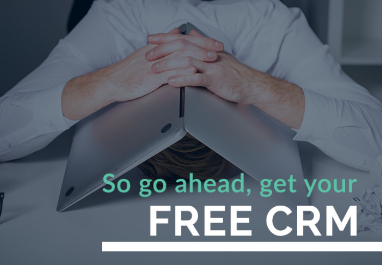 get a free CRM for your home care marketing
