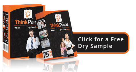 Receive a Free Dry Sample of Think Paint