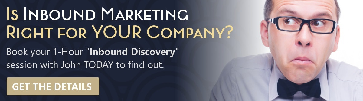 Is inbound marketing right for your company? Book your 1-hour