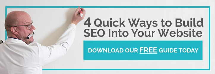 Four Quick Ways To Build SEO Into Your Website - Download Our Free Guide Today