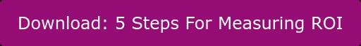 Download: 5 Steps For Measuring ROI