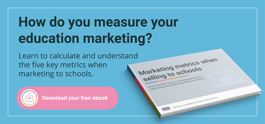 Download Marketing Metrics when Selling to Schools
