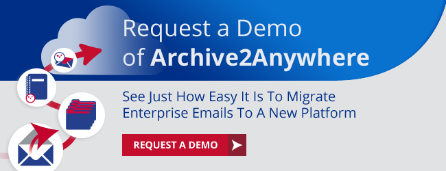 Request a Demo of Archive2Anywhere