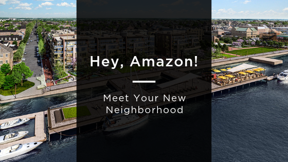 Hey, Amazon! Meet Your New Neighborhood