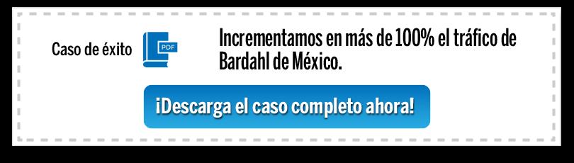 Incrementamos en más de 100% el tráfico de Bardahl de México.