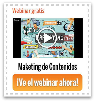 Webinar Marketing de Contenidos