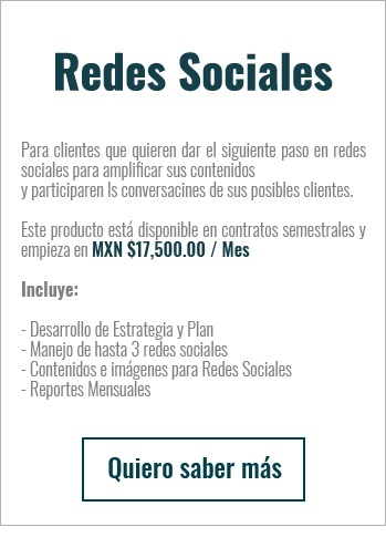 Redes Sociales Pricing