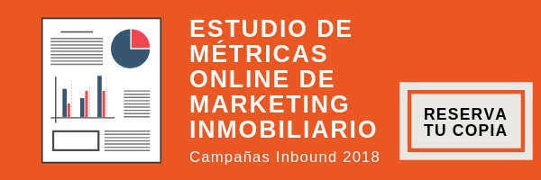 Estudio metricas online marketing inmobiliario