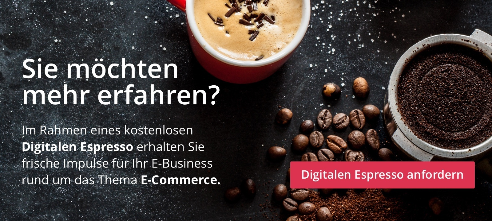 Digitaler Espresso E-Commerce