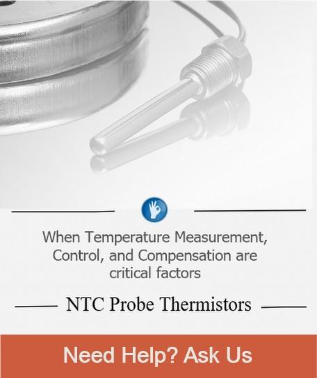 Custom Probe Thermistors. Get Hep with your application