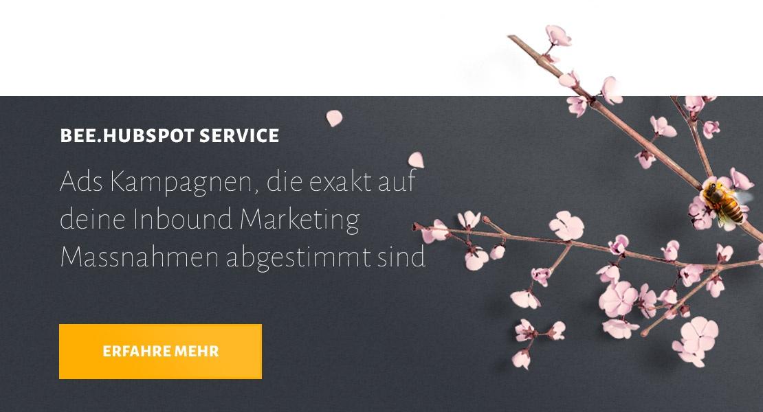 Mehr über BEE.HubSpot Service Ads Kampagnen erfahren
