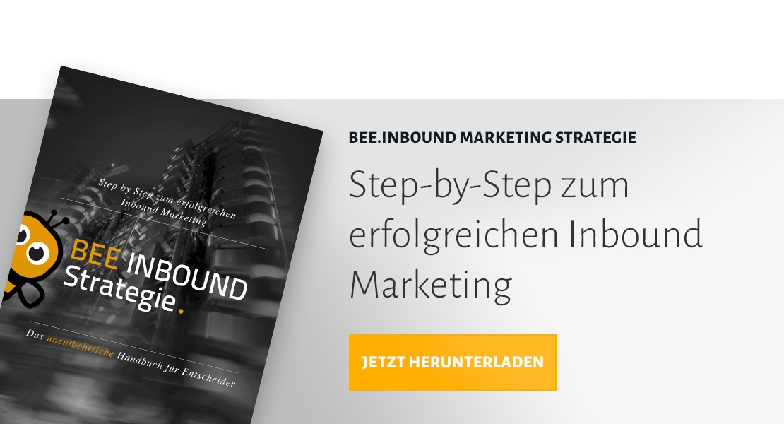 BEE.Inbound Marketing Strategie herunterladen