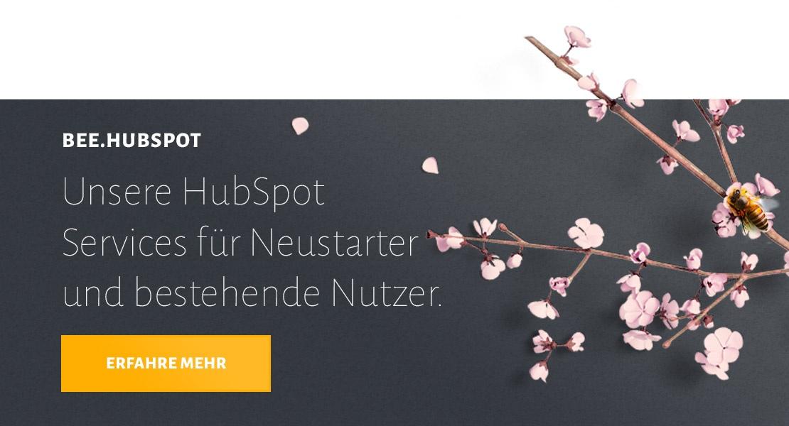 Mehr über BEE.HubSpot Services erfahren
