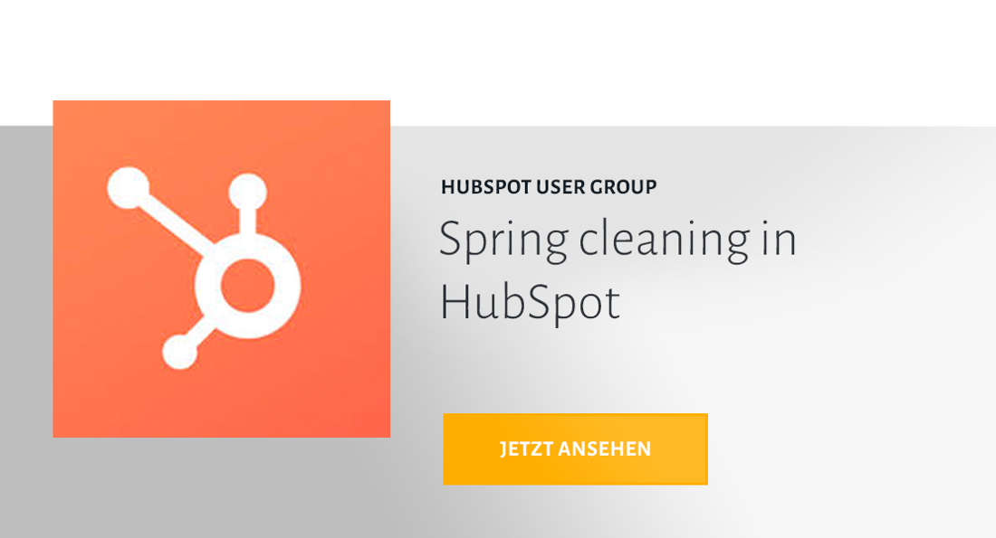 HUG Spring cleaning