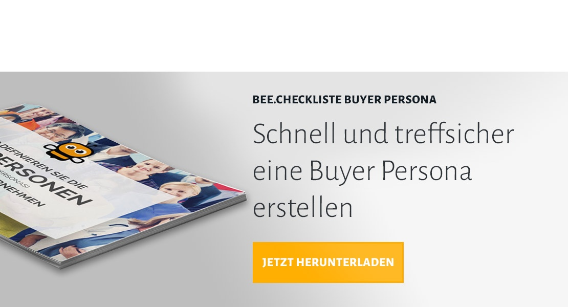 BEE.Checkliste Buyer Persona herunterladen