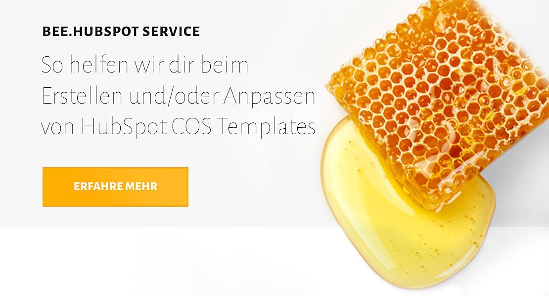 Mehr über BEE.HubSpot Service COS Templates erfahren