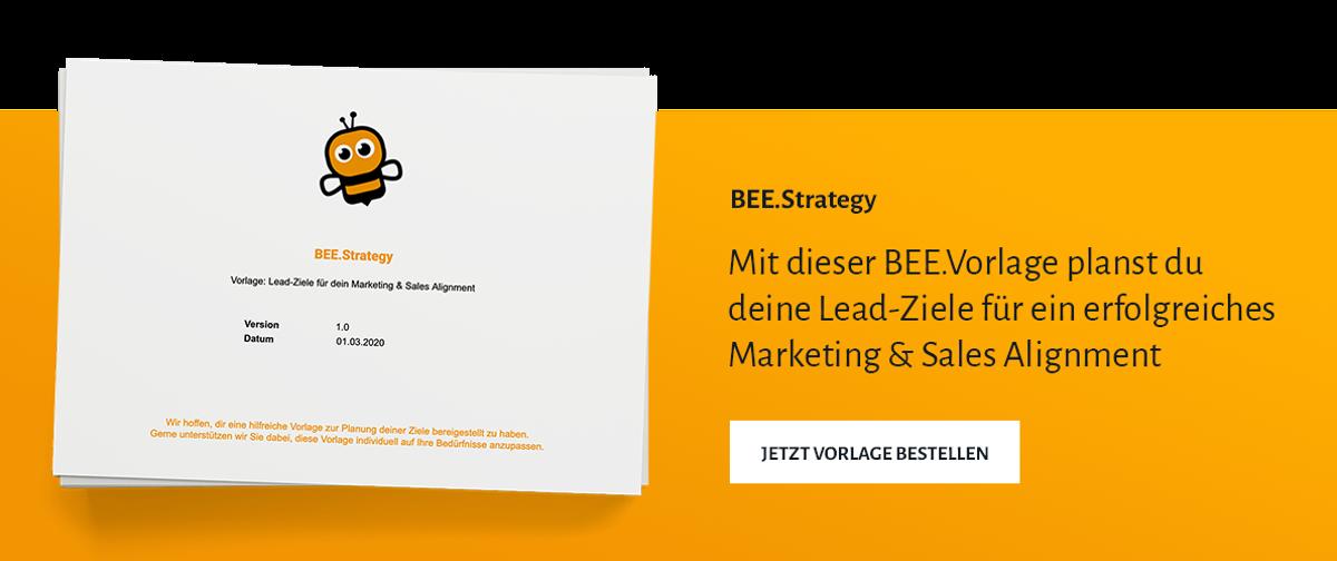 BEE.Vorlage Lead-Ziele