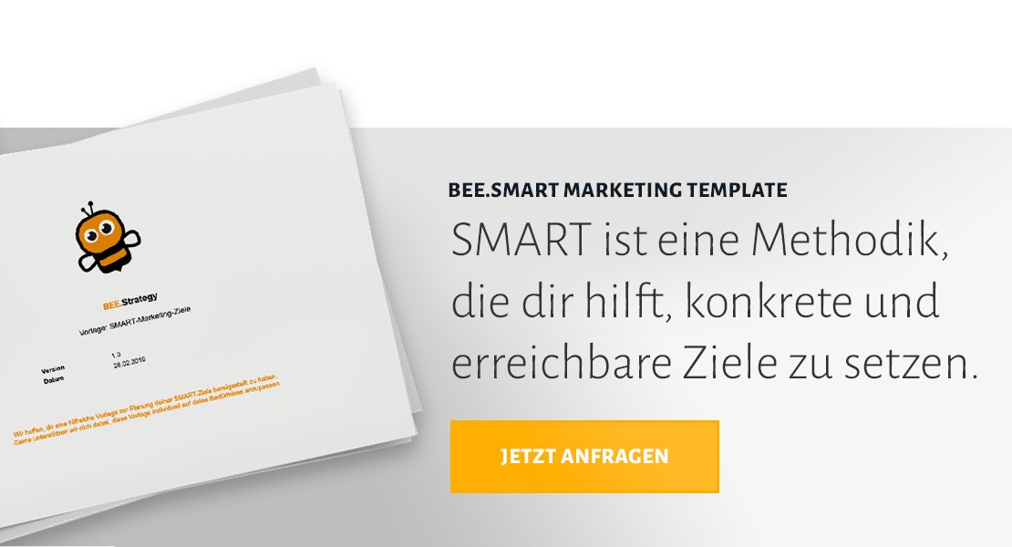 Jetzt SMART-Marketing-Ziele Templateanfragen