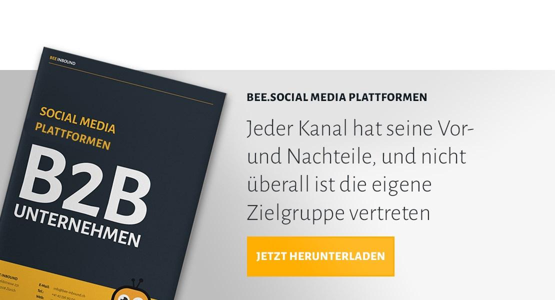 BEE.Social Media Plattformen herunterladen