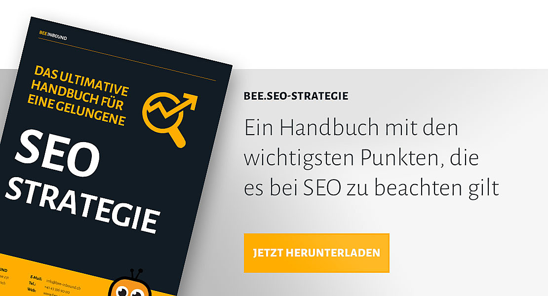 BEE.SEO-Strategie Handbuch