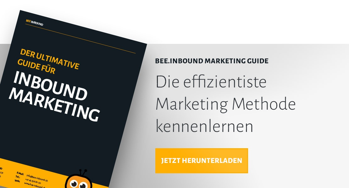 Leitfaden Inbound Marketing anfordern