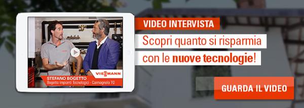 Guarda la video intervista su come si risparmia con le nuove tecnologie