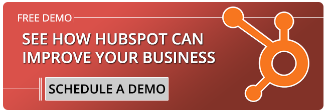 Schedule A HubSpot Demo