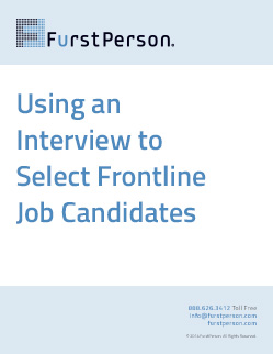 Whitepaper | Using an Interview to Select Frontline Job Candidates