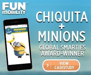 Chiquita Minions Mobile Marketing Campaign