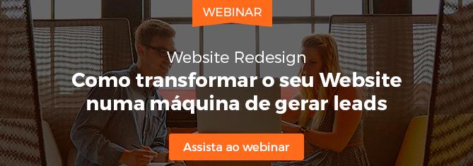 Como Transformar o seu website numa máquina de gerar leads