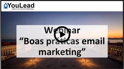 Webinar - video boas praticas de email marketing