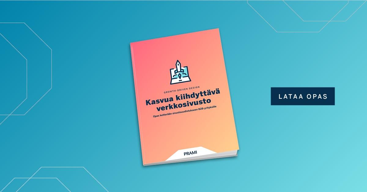 Growth-Driven Design eBook – Prami Growth Agency