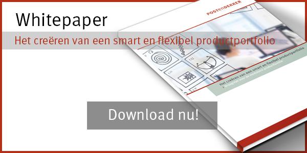Het creëren van een smart en flexibel productportfolio