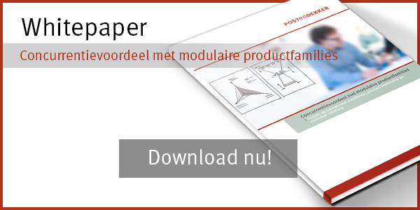 Concurrentievoordeel met modulaire productfamilies