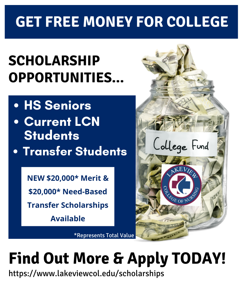 Click for LCN Scholarship Opportunities