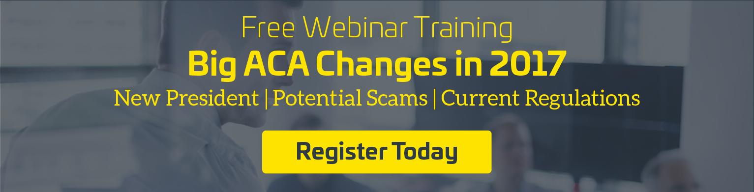 big aca changes in 2017 webinar training
