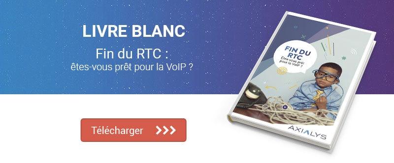 Livre blanc fin du RTC : êtes-vous prêt pour la VoIP ?