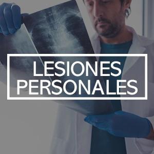 lesiones personales
