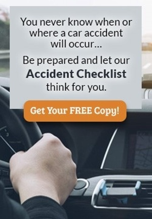 Let our Accident Checklist think for you- get your copy