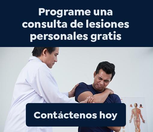 Programe una consulta de lesiones personales gratis