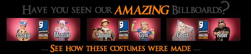 AmazingGoodwill Halloween Billboards