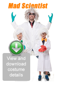 Create Your Look - Mad Scientist