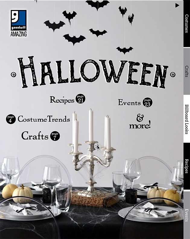Goodwill's Halloween Guide 2017