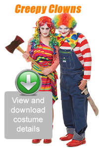 Create Your Look - Creepy Clowns