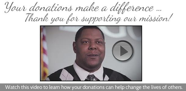 See how your donations to Goodwill make a difference!