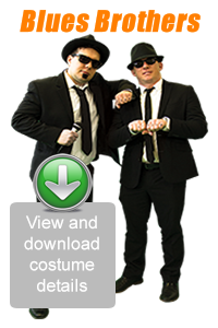 Create Your Look - Blues Brothers