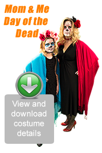 Create Your Look - Mom & Me Day of the Dead